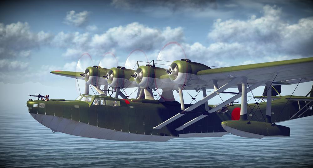 H6k летающая лодка War Thunder